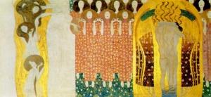 Gustav Klimt - Fregio di Beethoven - Inno alla Gioia
