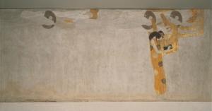 Gustav Klimt - Fregio di Beethoven - L'anelito alla felicità