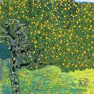 Gustav Klimt - Golden Apple Tree - 1903