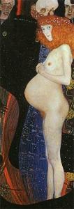 Gustav Klimt - La Speranza I