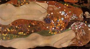 Gustav Klimt - Water Serpents II - 1904