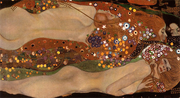 Gustav Klimt - Water Serpents II - 1904