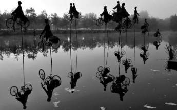 """""""Retour a Betton""""dell'artista franceseGuy Lorgeret"""