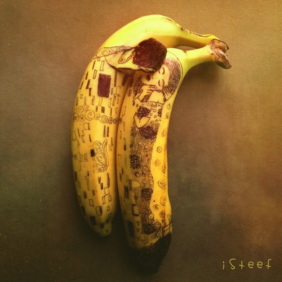 Stephan Brusche e le sue nuove opere d arte: le Banane