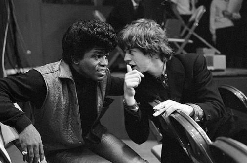 James Brown e Mick Jagger, 1964