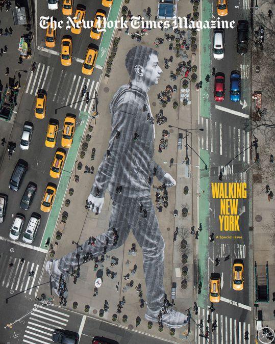JR streetart NYC