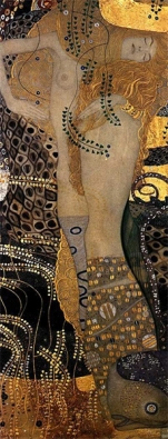 Klimt - Bisce d'acqua I (1904-7)
