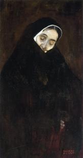 Klimt - Vecchia (1909)