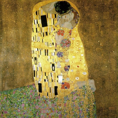 Klimt - Il Bacio, 1908