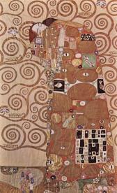 Klimt - Il fregio Stoclet - L'Abbraccio (1905-1909)