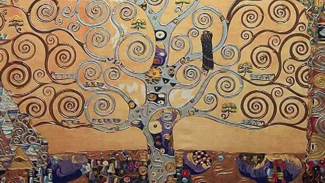 Klimt - Il fregio Stoclet - L'Albero della vita (1905-1909)