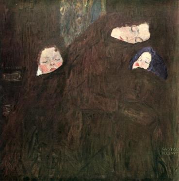 Klimt - La famiglia (1909)