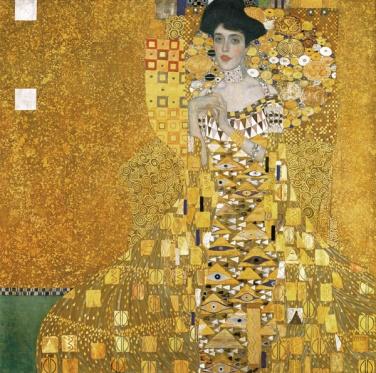 Klimt - Ritratto di Adele Bloch-Bauer I (1907)