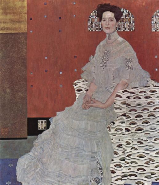 Klimt - Ritratto di Fritza Riedler (1906)