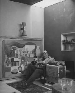 Le Corbusier in relax a casa - Nina Leen, 1946 - LIFE