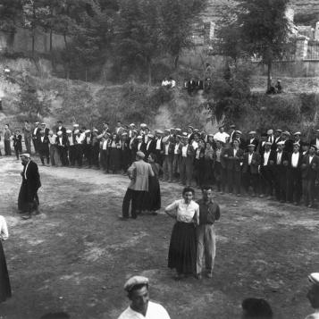 Pablo Volta - Orgosolo, Festa dell'Assunta, agosto 1956