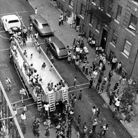 Piscine portatili a New York, 1960