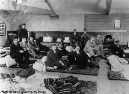 I sopravvissuti del disastro del Titanic, maggio 1912