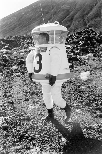 Training per le Missioni Apollo, 1962 Fritz Goro per Life Magazine