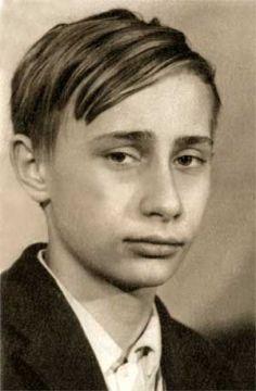 Vladimir Putin a 14 anni, Russia
