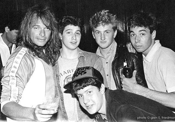 Beastie Boys, Sean Penn e Diamond David Lee Roth