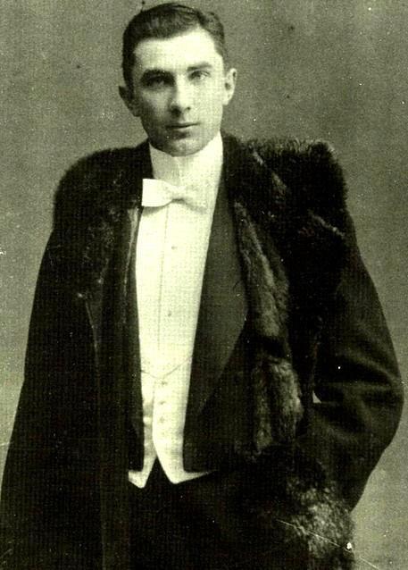 Bela Lugosi a 18 anni. 1898