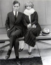 Charlie Chaplin e la prima ballerina Anna Pavlova 1922