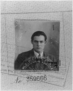Passaporto di Ernest Hemingway (1923)