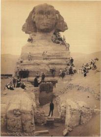 Scavo della Sfinge, ca 1850