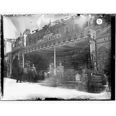 Giulio Pili - Cagliari, Piazza del Carmine, Interno Fiera campionaria 1901