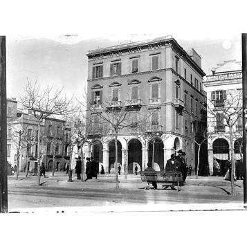 Giulio Pili - Cagliari, via Roma, angolo via Barcellona