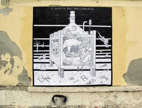 Guerrilla Spam - IL SALOTTO DELL'INTELLIGHENZIA