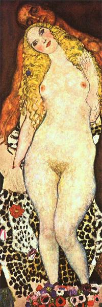 Gustav Klimt - Adamo ed Eva (1917)