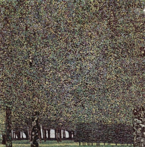 Gustav Klimt - Il Parco (1910)