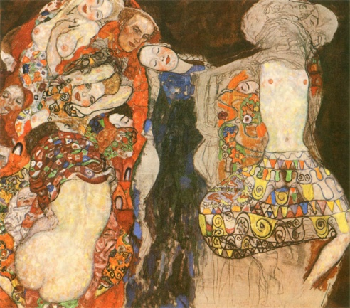 Gustav Klimt - La sposa (1917)