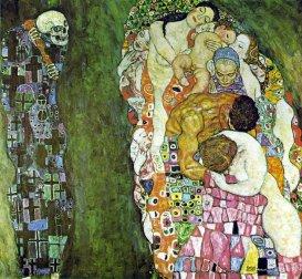 Gustav Klimt - Morte e Vita (1915)