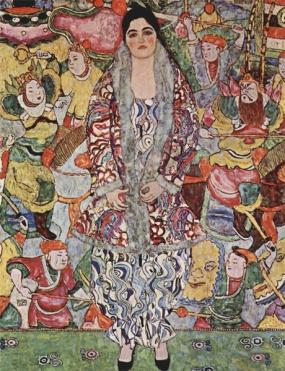 Gustav Klimt - Portrait of Friederike Maria Beer (1916)