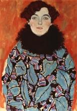 Gustav Klimt - Portrait of Johanna Staude (unfinished) (1917)