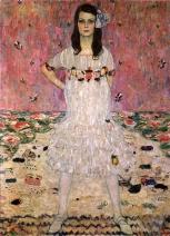 Gustav Klimt - Portrait of Mäda Primavesi (1912)