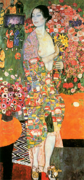 Gustav Klimt - The Dancer (formerly Ria Munk II) (1916)