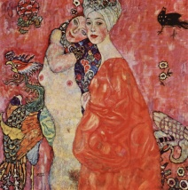 Gustav Klimt - The Girlfriends (1916)