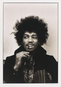 Jimi Hendrix fotografato da Linda McCartney 1967