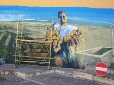 Marcello Rosas - Murales eseguito a Baratili San Pietro
