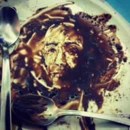 Marcello Rosas - Paint on chocolate