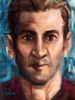 Marcello Rosas - The creation of my mind (Pittura digitale su Ipad)