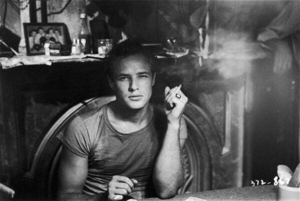 "Marlon Brando in ""A Streetcar Named Desire"", 1951"