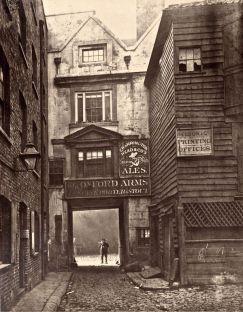 Oxford Arms, Warwick Lane, London, 1875