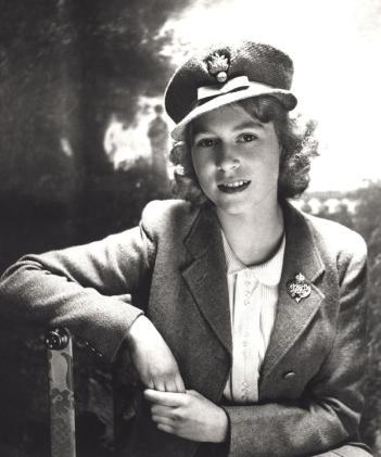 Principessa Elisabetta, 1942. Fotografia di Cecil Beaton