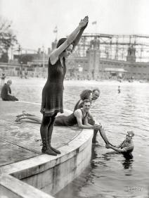 Starlight Park nel The Bronx, NY, 1921