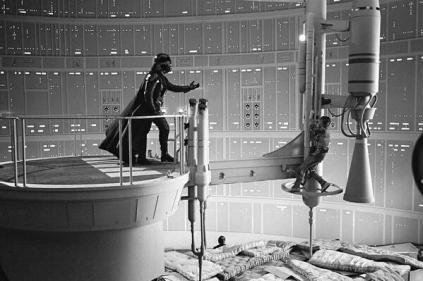 La realizzazione di 'Star Wars L'impero colpisce ancora'. C. 1979